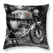 Original Cafe Racer Throw Pillow