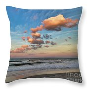 Ormond Beach Sunset Throw Pillow