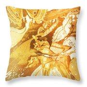 Ornamental Spring Throw Pillow