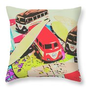 Ornamenting Hawaii Throw Pillow