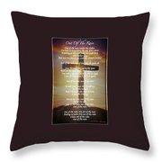 Out Of The Rain Throw Pillow