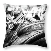 Out Of The Saddle Throw Pillow