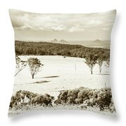 Outback And Beyond Throw Pillow