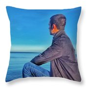 Over See Throw Pillow