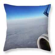 Over The Sky Throw Pillow