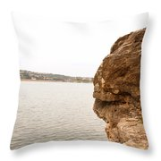 Pace Bend Throw Pillow