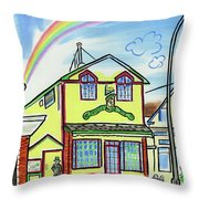 Paddy's Pub Throw Pillow