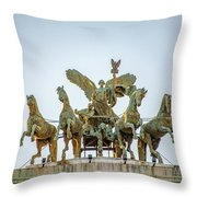 Palace Of Justice Throw Pillow