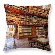 Palafoxiana Library Throw Pillow