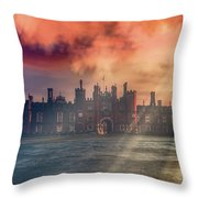 Palatial Throw Pillow