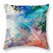 Palette 2 Throw Pillow