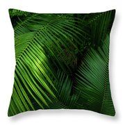 Palm Saturday Throw Pillow