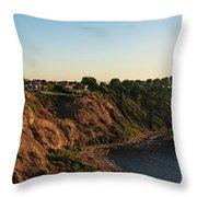 Palos Verdes Sundown Throw Pillow
