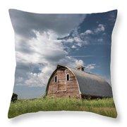 Palouse Barn 9652 Throw Pillow