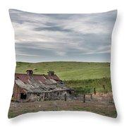 Palouse Barn 9907 Throw Pillow