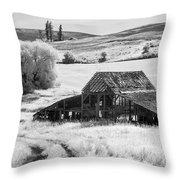 Palouse Barn Ir 9305 Throw Pillow