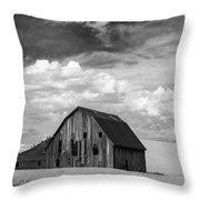 Palouse Barn Ir 9335 Throw Pillow