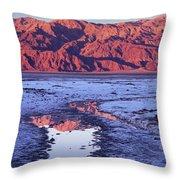 Panamint Reflection 2 Throw Pillow
