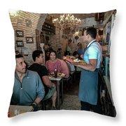 Pane E Salame Throw Pillow