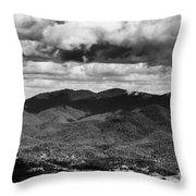 Panorama Melodrama Throw Pillow