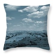 Parade Of Light And Shade Throw Pillow