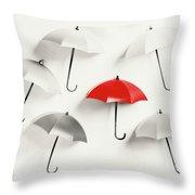 Parasol Pop Throw Pillow