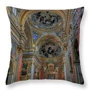 Parrocchia Santa Maria In Vallicella Throw Pillow