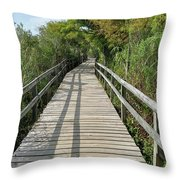 Path To Unknown Throw Pillow
