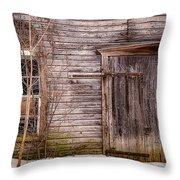 Patina Throw Pillow by Kendall McKernon