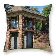 Pavilion At Hubbard Throw Pillow