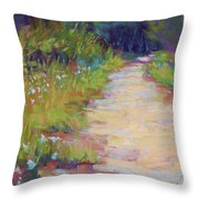 Peaceful Journey Throw Pillow