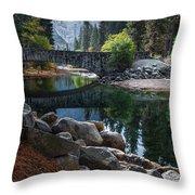 Peaceful Yosemite Throw Pillow