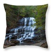 Pearson's Fall And Glen - Saluda North Carolina Throw Pillow