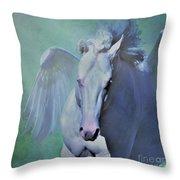 Pegasus Fantasy Throw Pillow