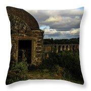 Pegoes Aqueduct Throw Pillow