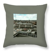 Penn Station  Throw Pillow