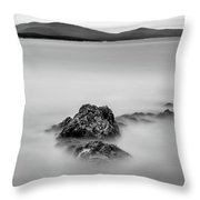 Penobscot Bay Tranquility Throw Pillow