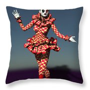 Perched Of Pierrette Throw Pillow