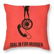 Perfect Murder Throw Pillow