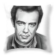 Pernell Roberts 2 Throw Pillow
