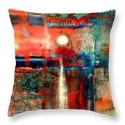 Perspex Throw Pillow
