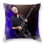 Peter Frampton Throw Pillow