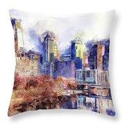 Philadelphia, Pennsylvania - 04 Throw Pillow