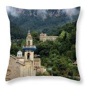 Photo Valldemossa, Mallorca Throw Pillow