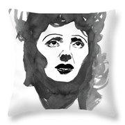 Piaf Throw Pillow