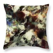 Picking Up The Fragments Throw Pillow