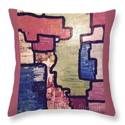 Pieces Of The Puzzle Throw Pillow