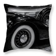 Pierce Arrow Circa. 1937 Throw Pillow by Michael Hope