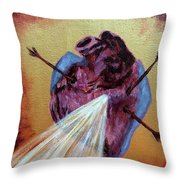 Pierced Throw Pillow