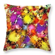 Pigment Noise Throw Pillow